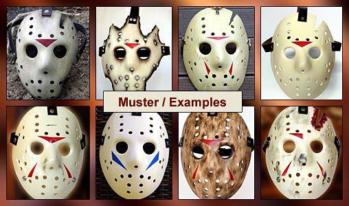 Freitag der 13.: Jason Voorhees Maske, Modell-Bausatz, http://spaceart.de/produkte/fdd007.php