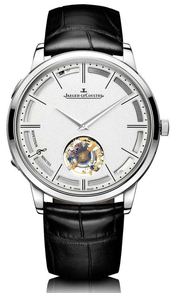 """Jaeger-LeCoultre Master Ultra-Thin Minute Repeater Flying Tourbillon """"Hybris Mechanica 11″ Watch Breaks New Record"""