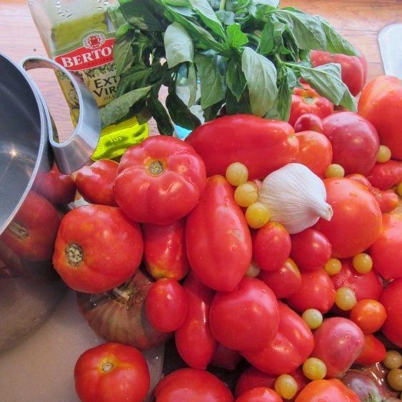 Tomato harvest.: Farm Rethinking, Food Porn, Food Ideas, Farm Stand, Farm Preserving, Food Main, Delicious Food