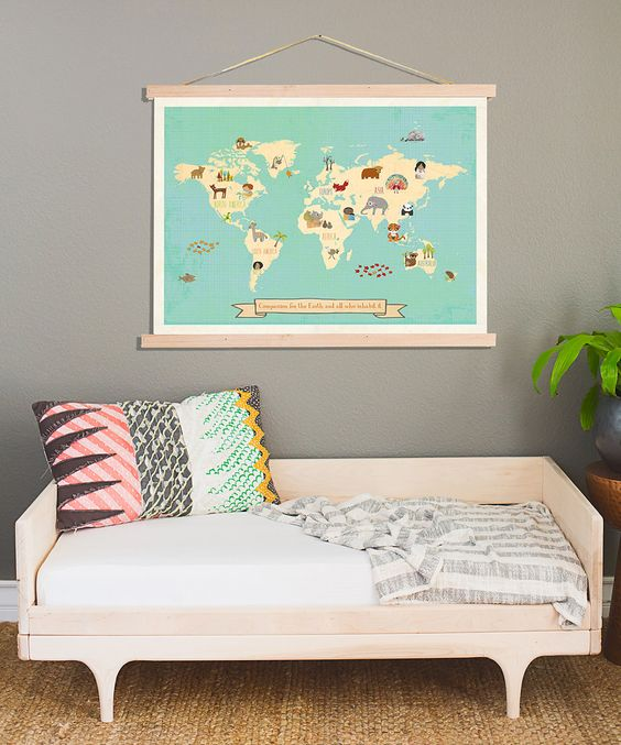 Another great find on #zulily! Compassion Map Framed Art Kit by Children Inspire Design #zulilyfinds