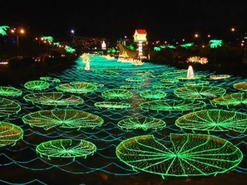 Outdoor-christmas-light-ideas Lily Pad: