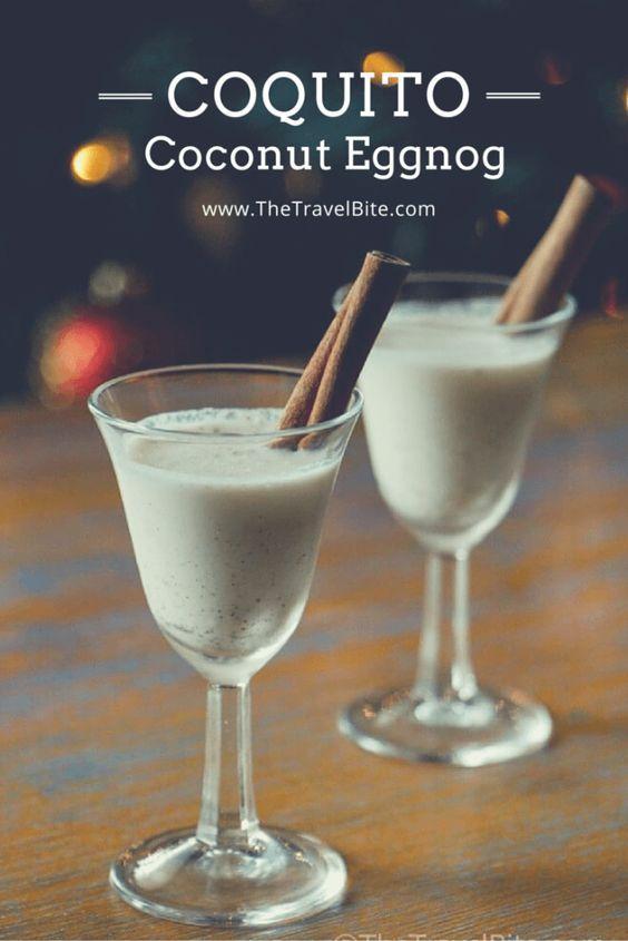 Coquito recipe traditional coconut and puerto rico - Traditional eggnog recipe holidays ...