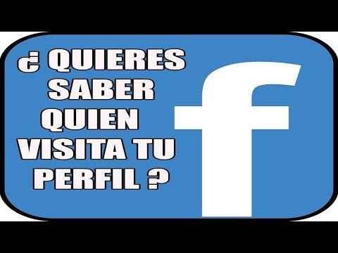Como Saber Quien Visita Mi Perfil De Facebook Youtube Perfil De Facebook Trucos Para Android Facebook
