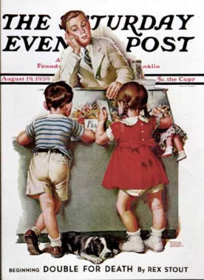 To spending more time with the kids. Because the most awesome moments in someones life is when they're still kids. We as adults need to make their childhood as awesome as possible! (Saturday Evening Post - 1939-08-19: Penny Candy (Frances Tipton Hunter) )