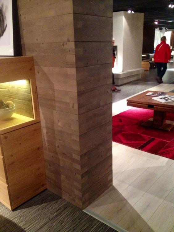 Säulenverkleidung Holz