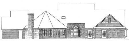 Plan W48063FM: Classic Farmhouse with Angled Spaces