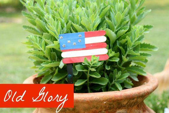 Old Glory Flag Craft