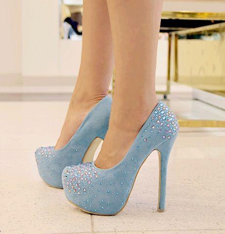 Cute Blue Heels