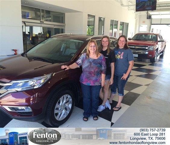 https://flic.kr/p/wS3KS7 | Congratulations to Janet Breedlove on your #Honda #Cr-V from Jose Valenzuela at Fenton Honda of Longview! #NewCar | www.fentonhondaoflongview.com/?utm_source=Flickr&utm_...