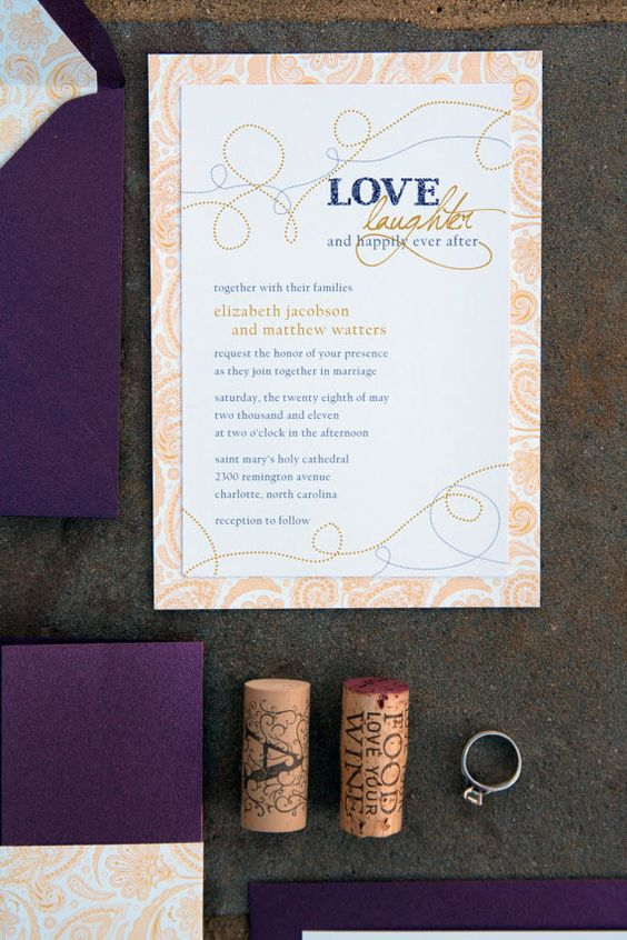 15 Best Wedding Invitations Images On Pinterest Modern Stationary And Cards