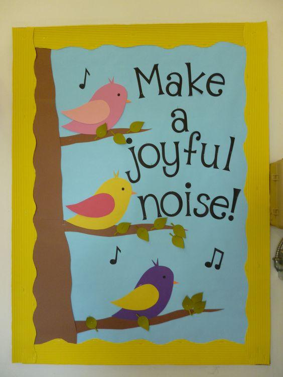 a joyful noise preschool bird bulletin boards and classroom on 239