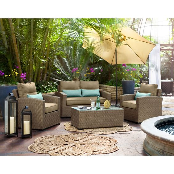 Patio Furniture For Living Room: Spring Is Here, Spring Is NOW. Why Not Beautify Your Patio