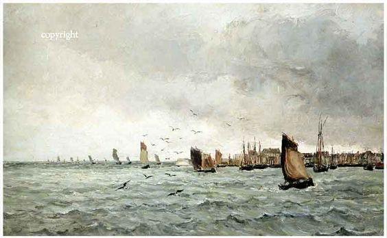 Concarneau et ses Peintres -peintres Français- Vernier Emile