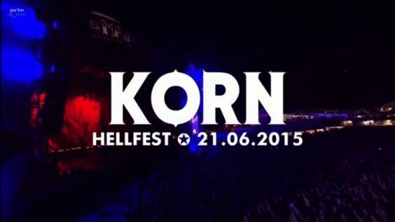 KoЯn Hellfest 2015
