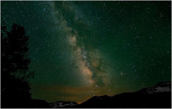 Milky Way in Telluride, CO wunderground.com