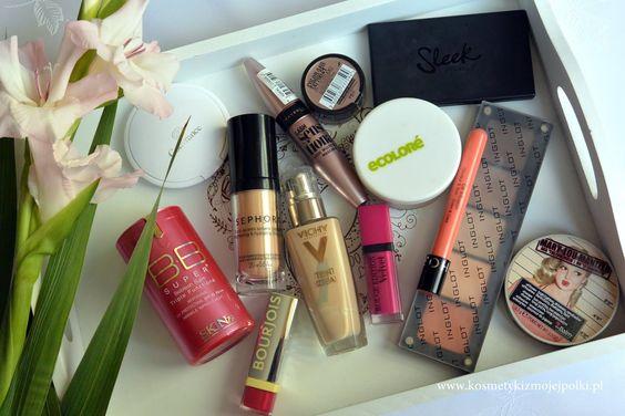 KOSMETYKI Z MOJEJ PÓŁKI: Ulubieńcy ostatnich miesięcy - makijaż   wrzesień 2015