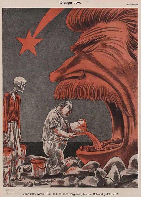 Сатира нацистской Германии на тему войны