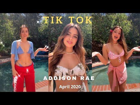 Addison Rae Tiktok Compilation April 2020 Youtube Addison Rae Videos Funny