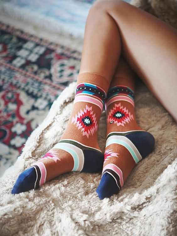 Free People Shooting Arrow Ankle Sock, $15.00