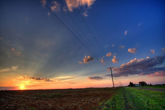 Lubbock, Texas. Ugliest place I ever lived with the prettiest sunsets I've seen.:
