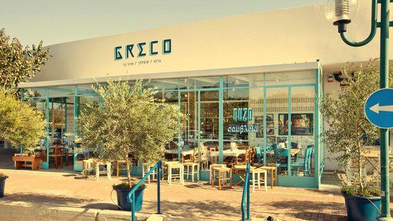 GRECO Greek restaurant by Dan Troim, Tel Aviv u2013 Israel » Retail