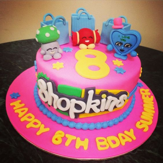 Shopkins, Instagram And Birthday Cakes On Pinterest