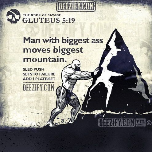 Man With Biggest Ass Moves Biggest Mountain Gluteus 5 19