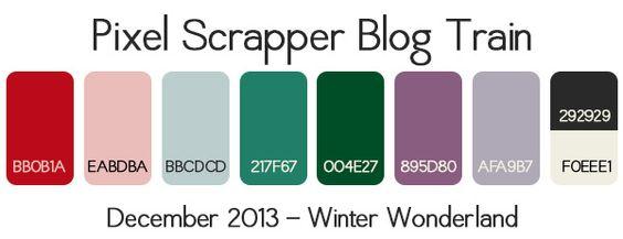 PS December 2013 Blog Train Palette