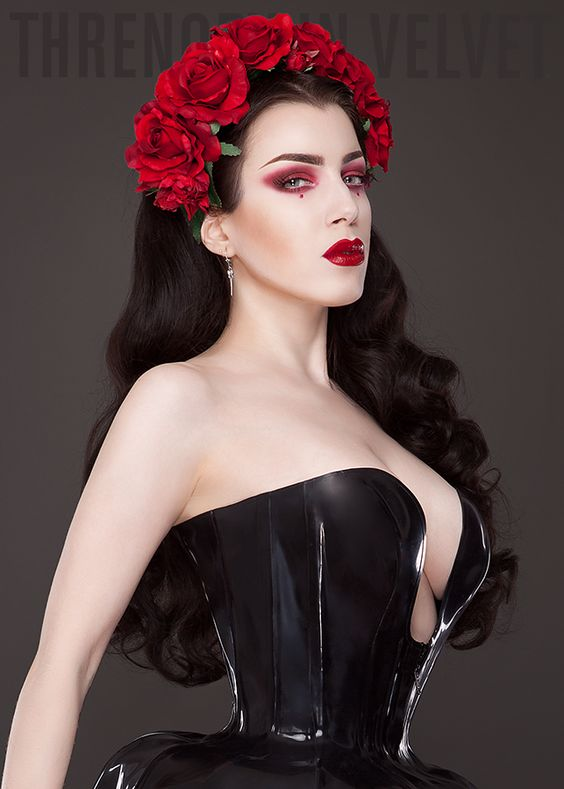 gothicandamazing: Model: Threnody In VelvetClothing: Torture-Garden-ClothingHair Crown: Sophisticated Lady Hair AccessoriesWelcome to Gothic and Amazing |www.gothicandamazing.org