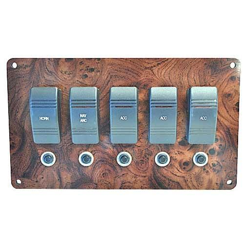 Plugs Directly Into Our Pontoon Boat Wiring Harness Switch Panel Is Pre Wired With Rocker Switches And Ci Pontoon Boat Small Pontoon Boats Pontoon Boat Parts