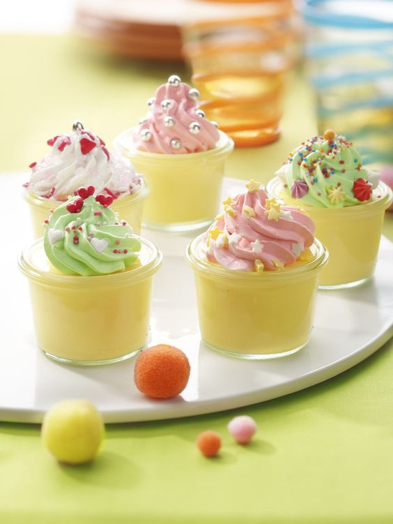 Cup pudding  - ILOVEBAKING.BE by Imperial