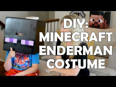 how to make your own minecraft costume
