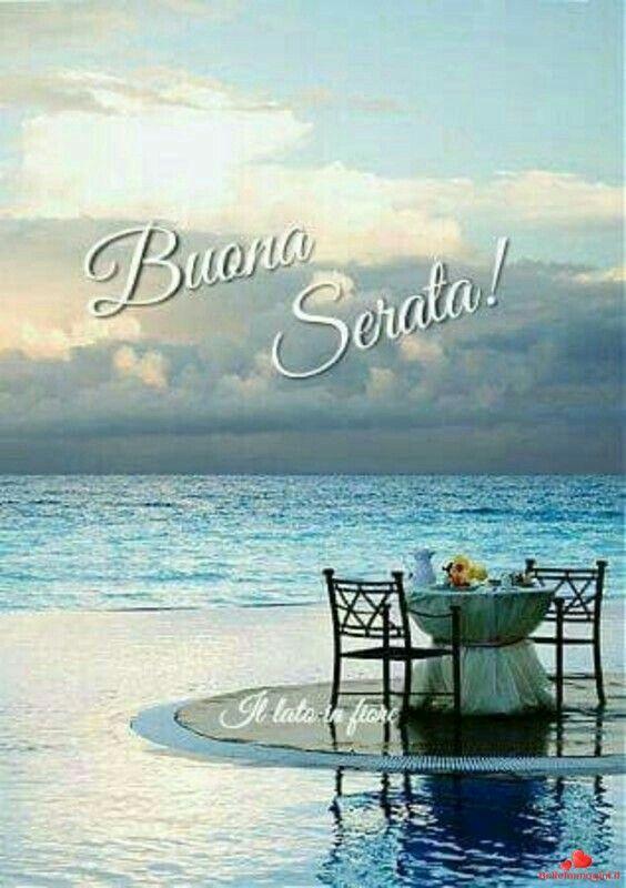 Pin di Maria Esposito su Buona serata estate   Buonasera, Immagini,  Buongiorno