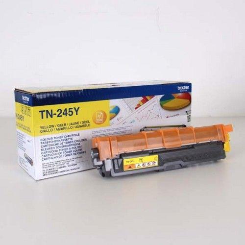 Brother Oryginalny Toner Tn245y Yellow 2200s Brother Hl 3140cw 3170cw Toner Toner Cartridge Laser Toner Cartridge