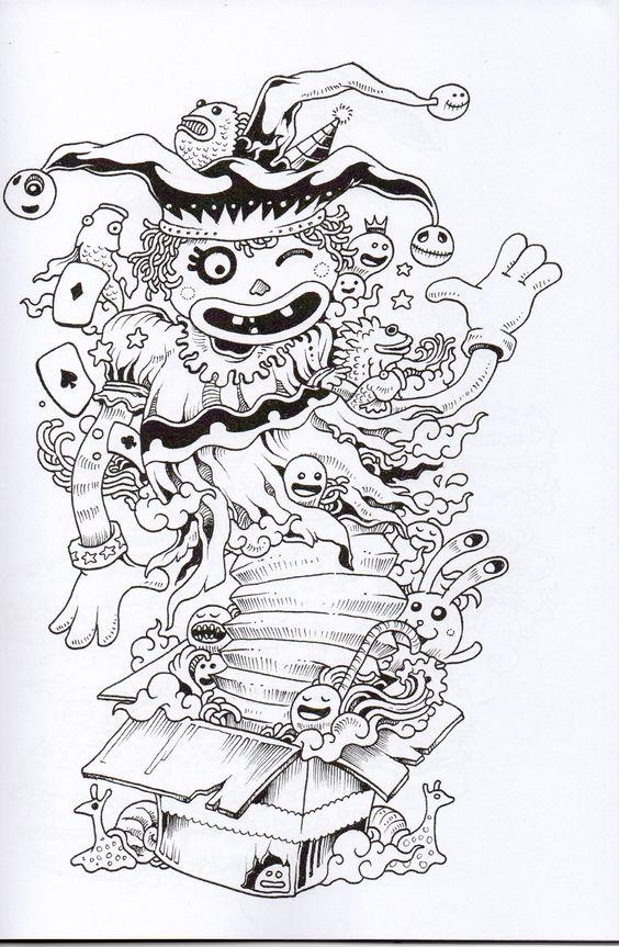 Doodles On Pinterest
