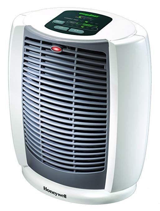 Honeywell Hz 7304u Deluxe Energysmart Cool Touch Heater White Portable Heater Heater Space Heater