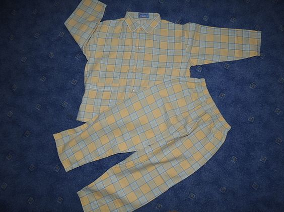 Flanell Pyjama Gr.110/116