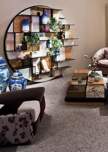 Furniture oriental and style on pinterest for Decoration table orientale
