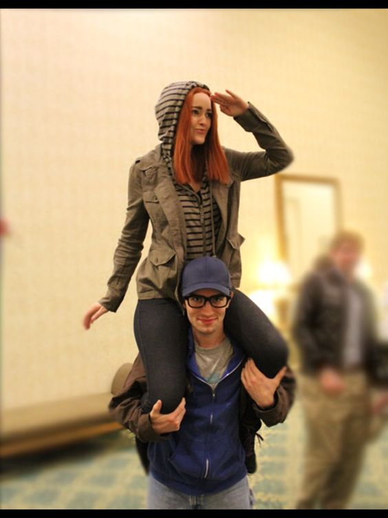 Natasha Romanoff and Steve Rogers cosplay from the Winter Soldier | This. I want to cosplay this.