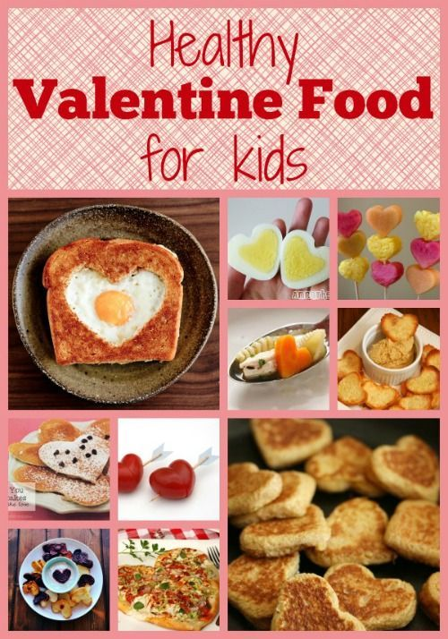 Serve up this Healthy Valentine Food for Kids - ideas for breakfast, lunch & dinner that kids will love