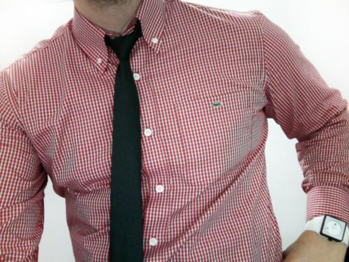 tie & the gingham