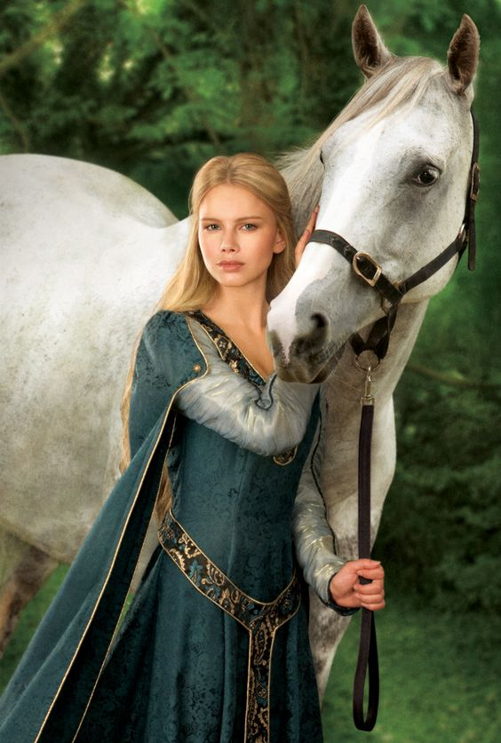 Isabella and her horse: