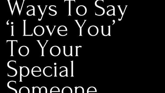 Signs unspoken love 12 Ways