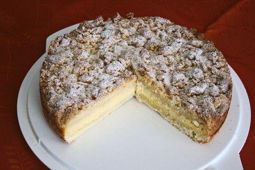 Crumble cake with custard | Streuselkuchen mit Pudding (Rezept mit Bild) von Seelenschein | Chefkoch.de