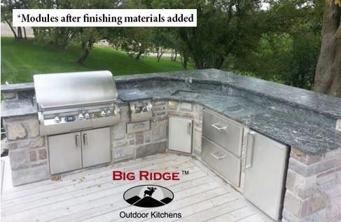 Diy Packages Build Your Own Augusta Outdoor Kitchen Kits Outdoor Kitchen Design Building A Deck