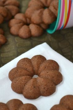 Galletas Spritz de Chocolate