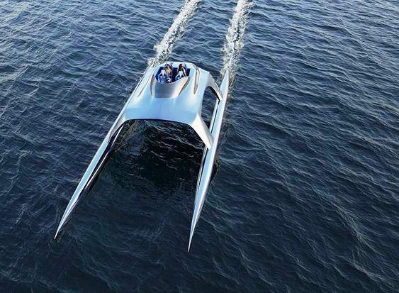 Glider Luxury Sports Yacht