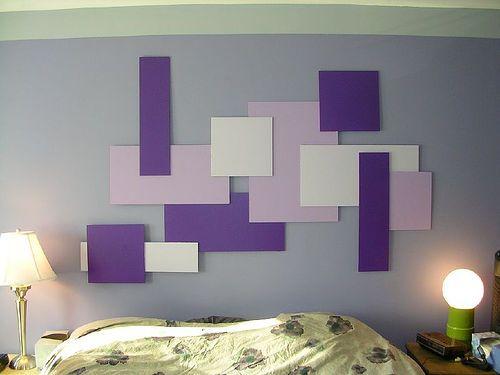 50 Desain Hiasan Dinding Kamar Tidur Kreatif Sederhana Desainrumahnya Com Parete Imbiancare Casa Vintage