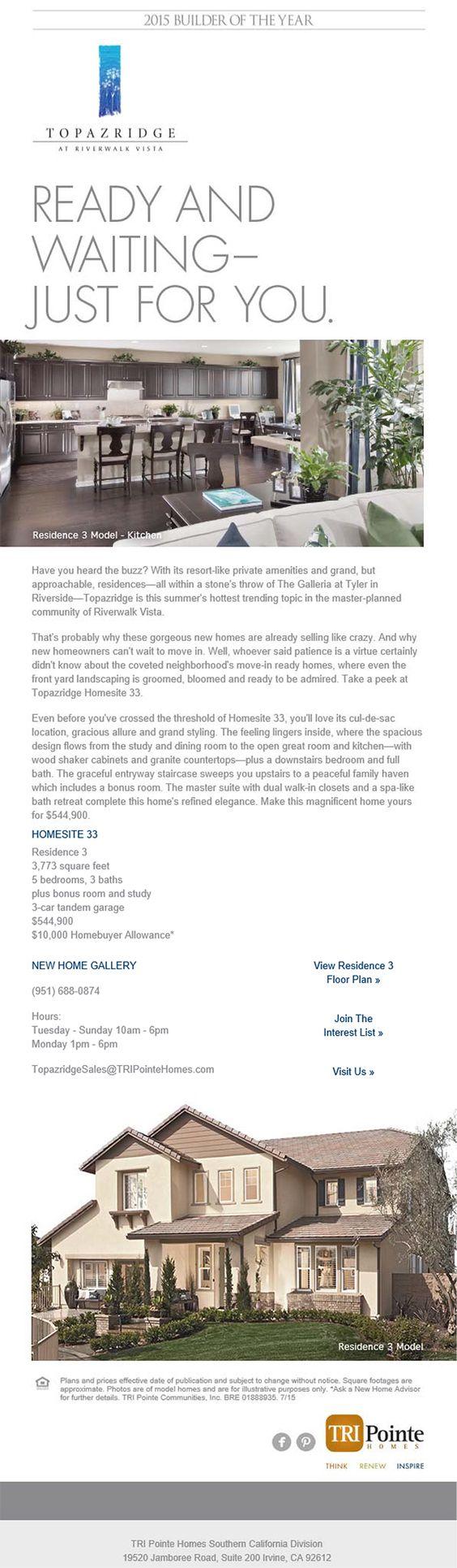 Model homes for sale in riverside ca