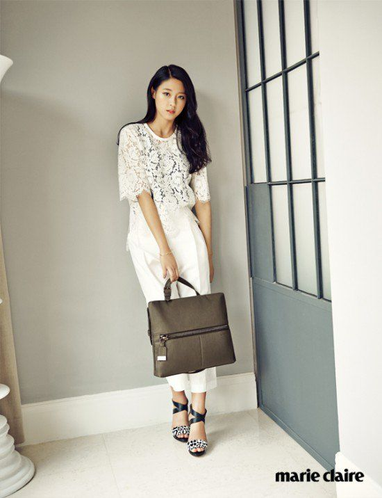 AOA's Seolhyun Poses for Marie Claire Magazine | Koogle TV